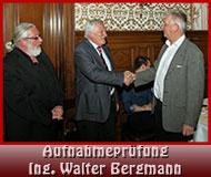 Aufnahmeprüfung Ing. Walter Bergmann