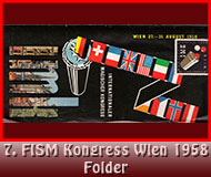 7. FISM Kongress Wien 1958 Folder