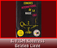 13. FISM Weltkongress Liege1961