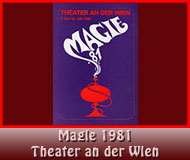 Magie 1981 Theater ander Wien
