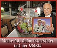 Meine 90. Geburtstagsfeier