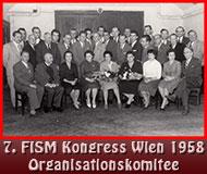 7. FISM Kongress Wien 1958 Organisationskomitee